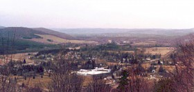 Portville, looking from Bear Cave to Olean